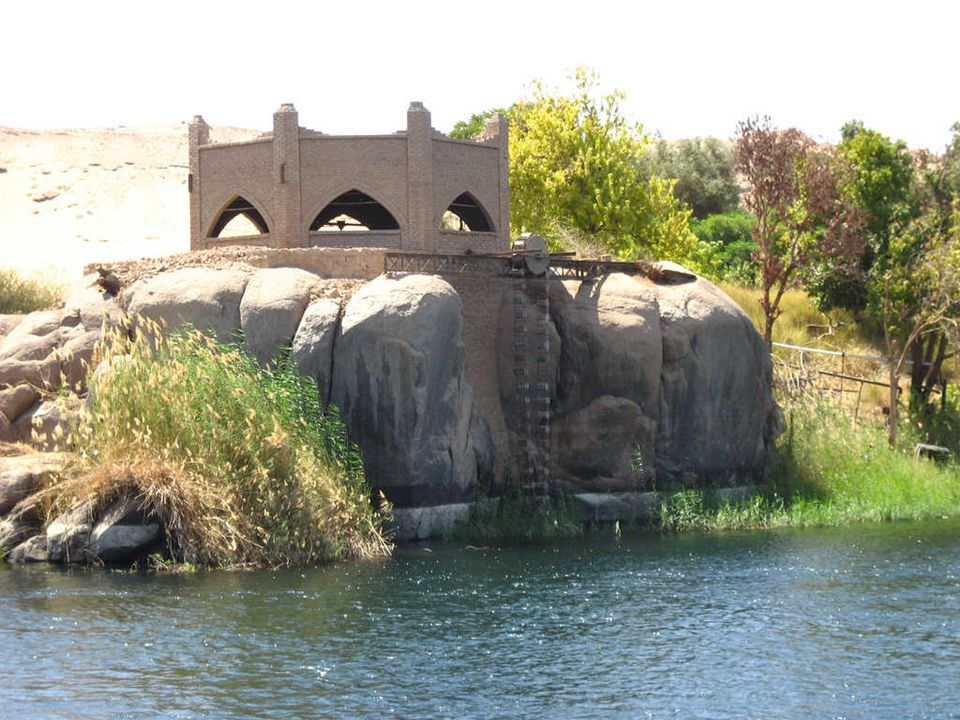 Feluka na Nilu