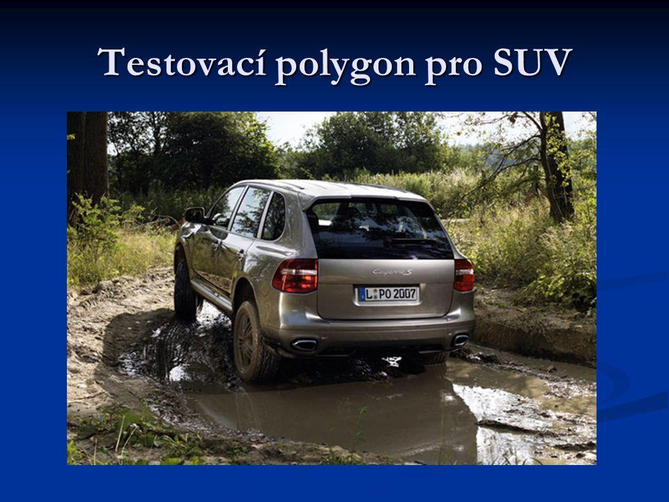 Testovací polygon pro SUV