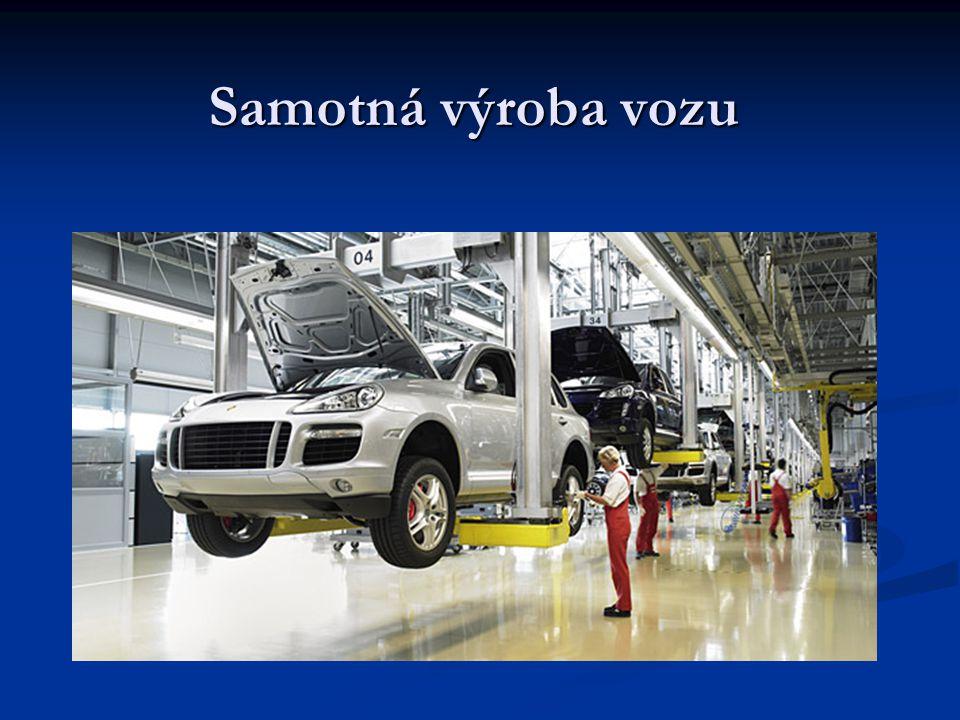 Samotná výroba vozu