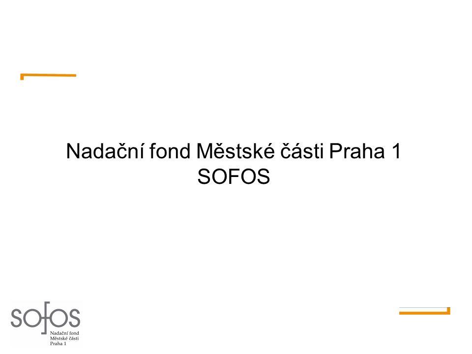 Nadační fond Městské části Praha 1 SOFOS