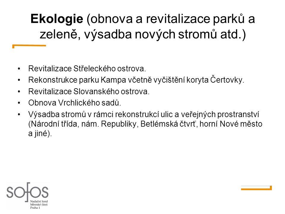 Vzdělávání (modernizace školských zařízení a výukových metod, vzdělávací programy) •Interaktivní výuka na školách Prahy 1 (pokračování programu vybavování škol interaktivními tabulemi, dataprojektory a učitelskými notebooky).
