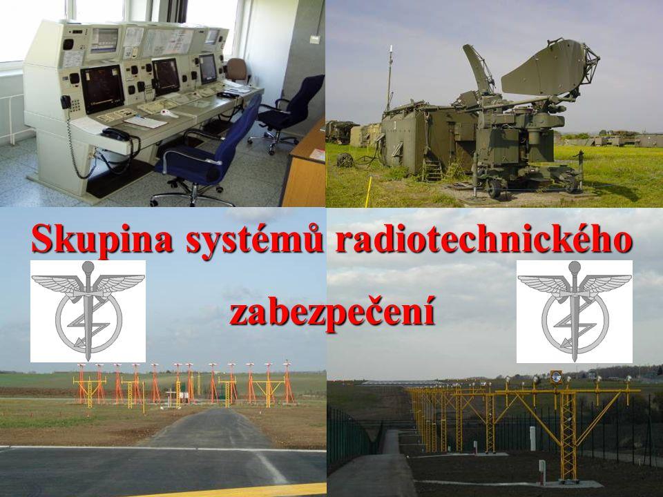 Skupina systémů radiotechnického zabezpečení