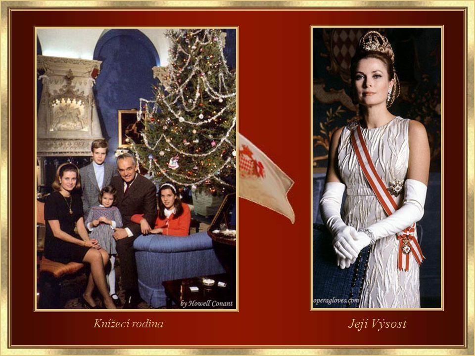 Kníže a kněžna Monaka Oficiální fotografie