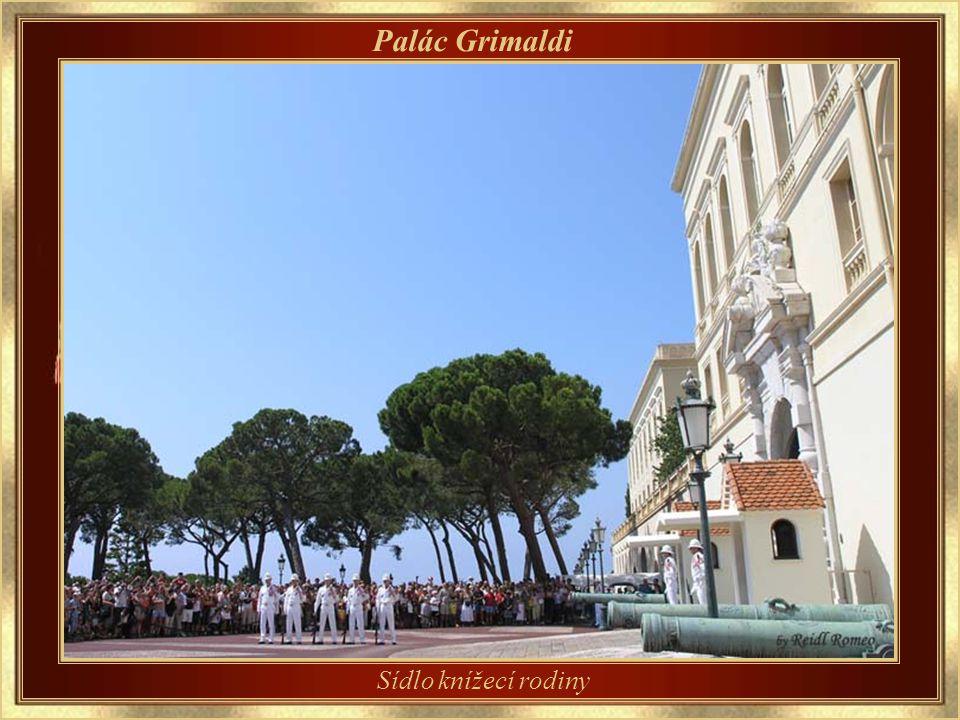 Monacké knížectví Rodina Grimaldi, původem z Janova, 8.12.1297 opanovala pevnost Monako.