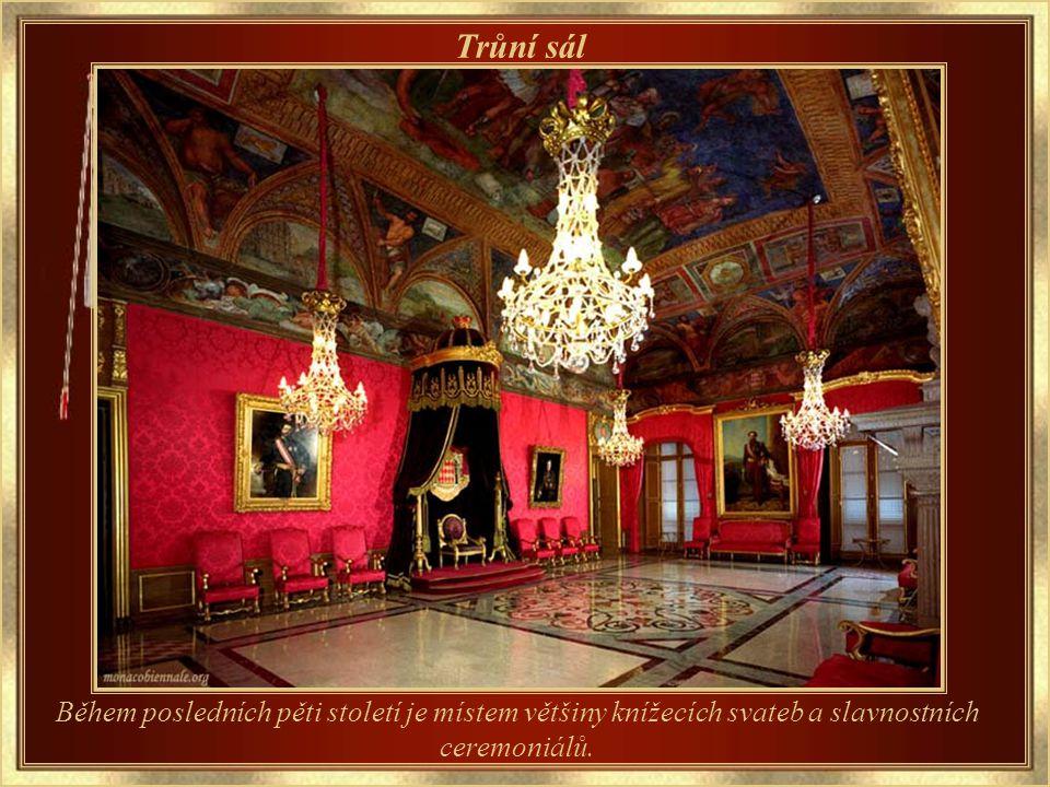 Palác Grimaldi Sídlo knížecí rodiny