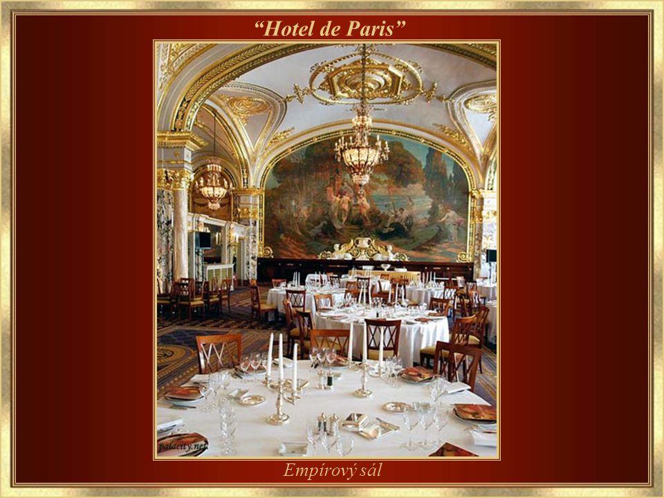 Otevřen v roce 1864 Hotel de Paris
