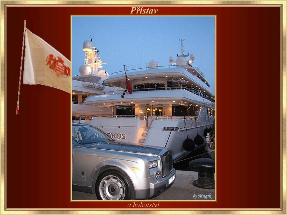 Kolekce luxusu Přístav