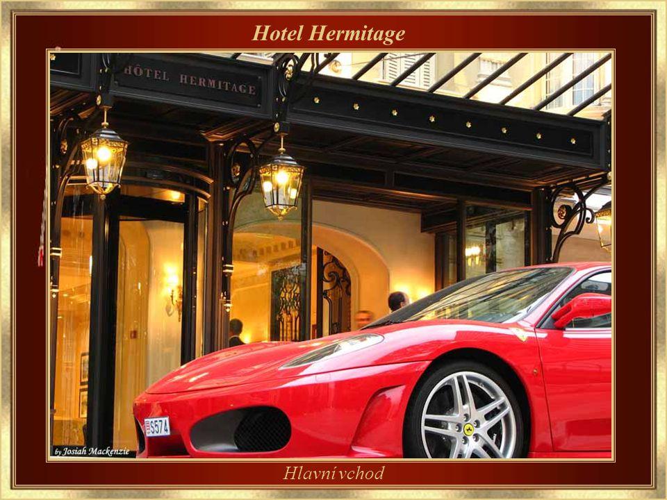 Hotel Hermitage Jeden z tradičních hotelů Monaka.