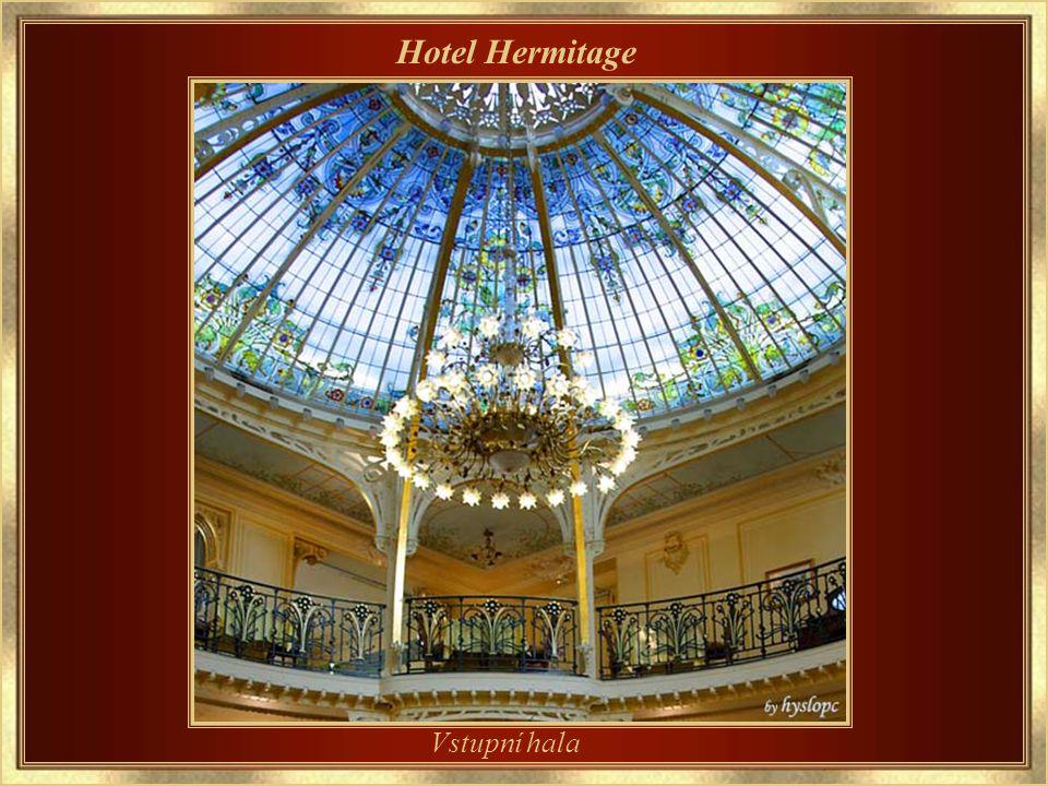 Hotel Hermitage Hlavní vchod