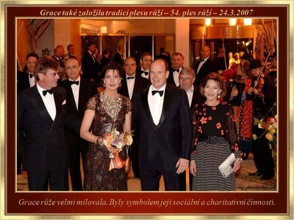 Potomci v současnosti Syn a kníže Albert II. a jeho sestry