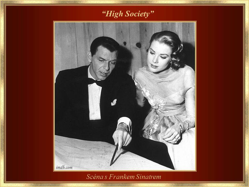 1956 – Její poslední film High Society – scéna s Louisem Armstrongem