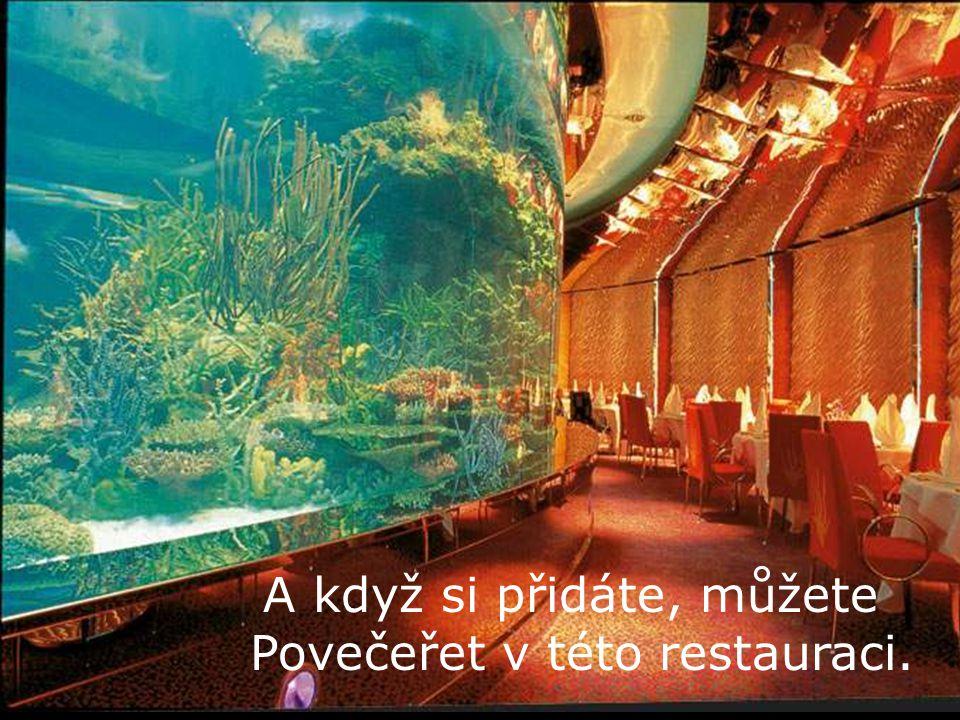 A když si přidáte, můžete Povečeřet v této restauraci.