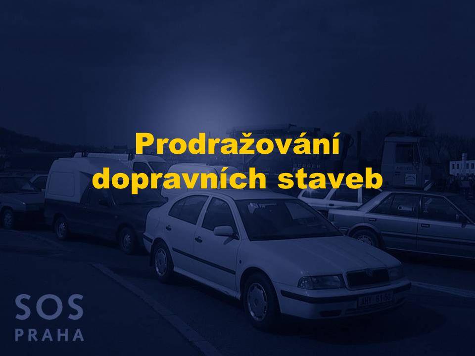 Finanční možnosti do roku 2015 Pokud se Praha nemá dále zadlužovat a nechce budovat dopravní infrastrukturu na úkor jiných funkcí města, může do roku 2015 investovat do rozvoje dopravních sítí cca 20 mld.