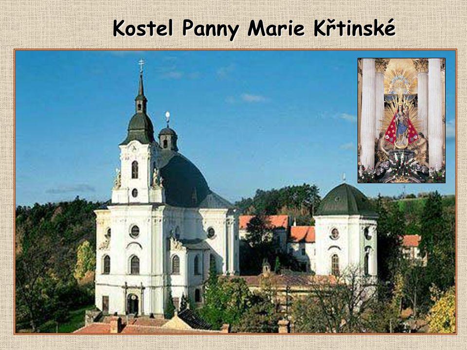 Poutní kostel Křtiny Poutní procesí do Křtin bylo v minulosti organizováno jehnickými občany o svátcích svatodušních.
