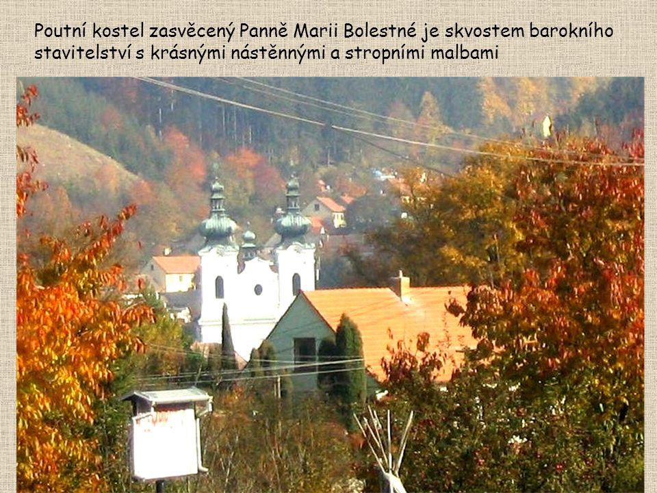 Pouť do Sloupu Poutní procesí do Sloupu také původně organizovali věřící ze sousedních Jehnic.