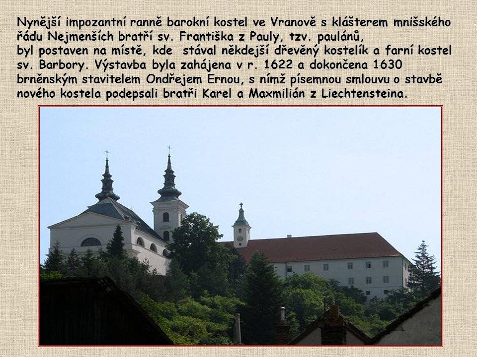 Sošky Panny Marie Vranovské