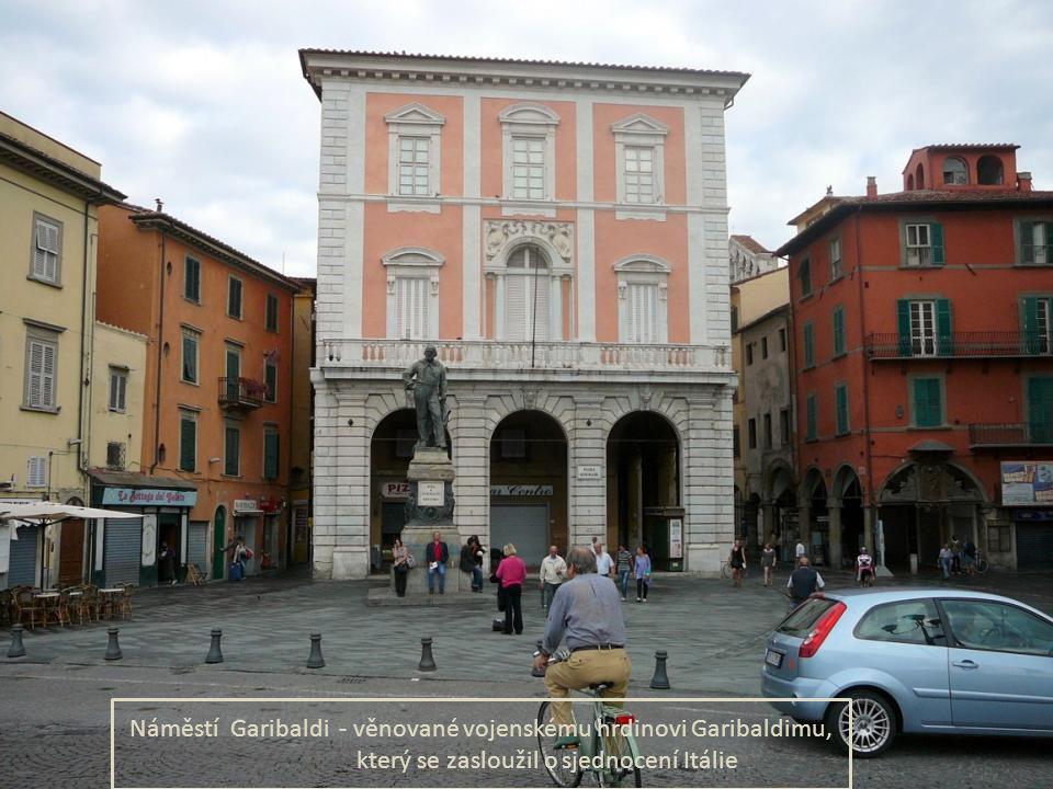 Kostel a benediktinský klášter San Michele Borgo (r. 1016) - ve st ř edov ě ku pat ř il k jedné z nejbohatší a nejmocn ě jší církevní instituicí. V 11