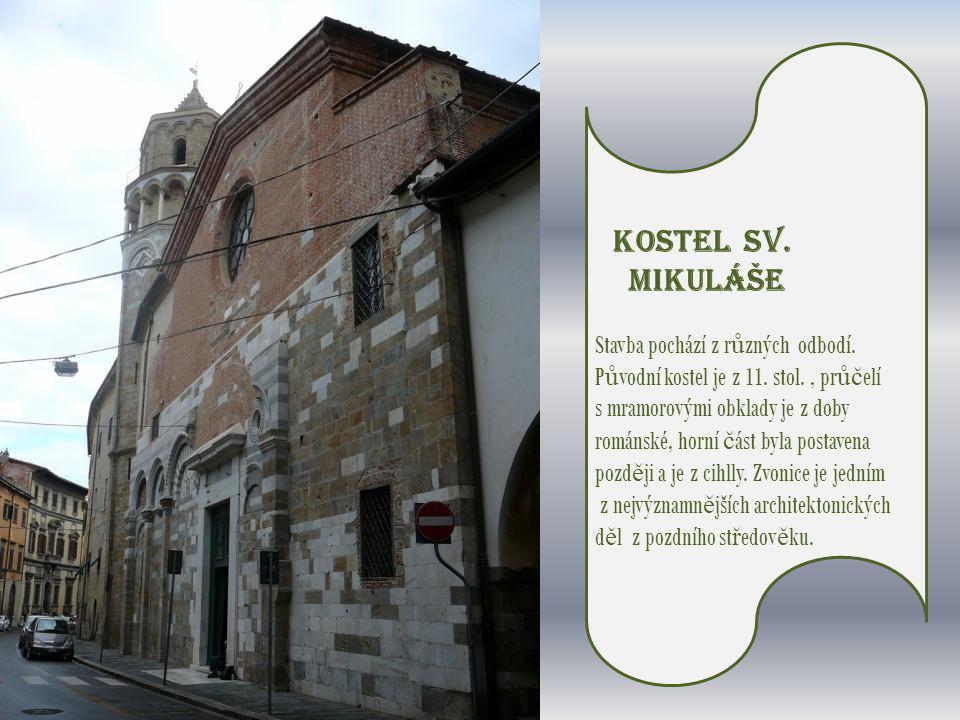 Kostel sv.Mikuláše Stavba pochází z r ů zných odbodí.