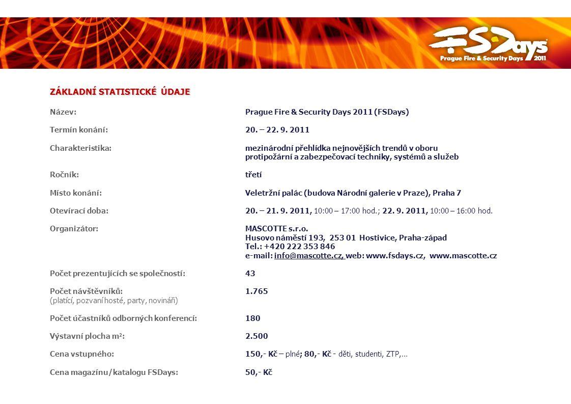 DOPROVODNÝ PROGRAM – SEMINÁŘE FSDays 2011 PROGRAM 3.