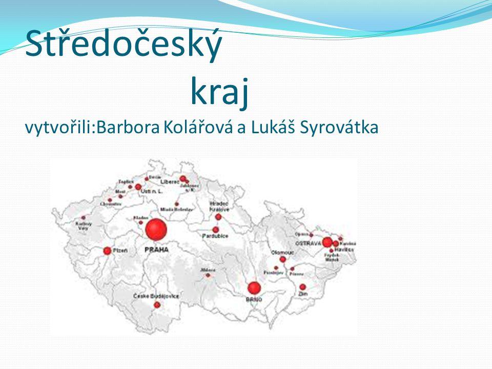 Středočeský kraj vytvořili:Barbora Kolářová a Lukáš Syrovátka