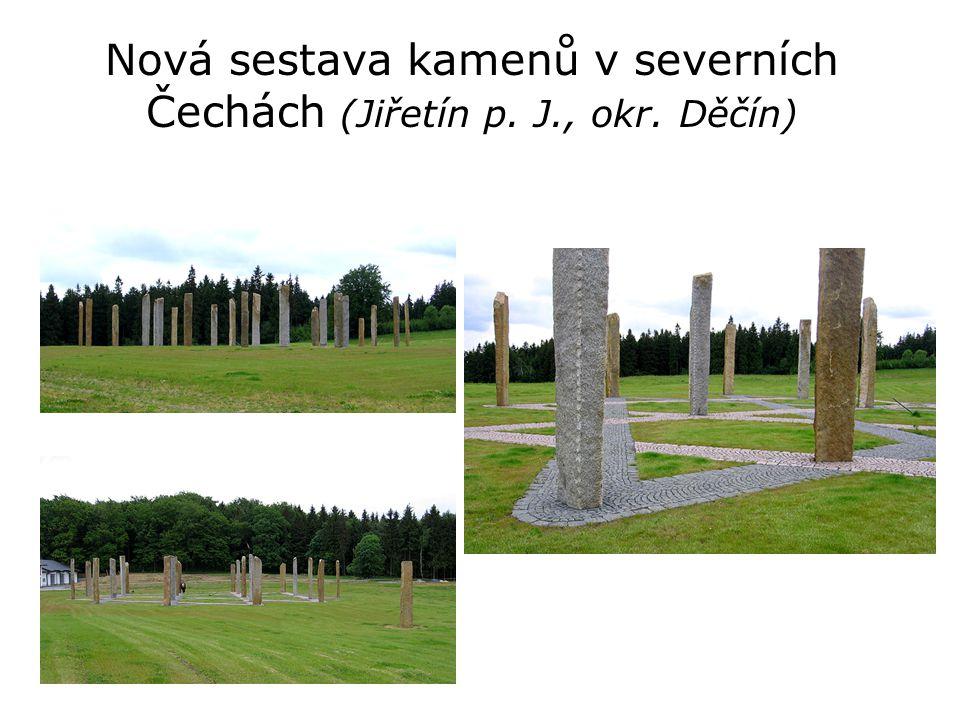 Nová sestava kamenů v severních Čechách (Jiřetín p. J., okr. Děčín)