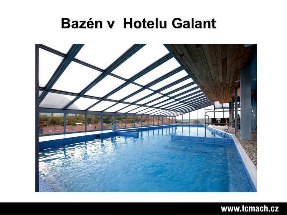 Bazén v Hotelu Galant