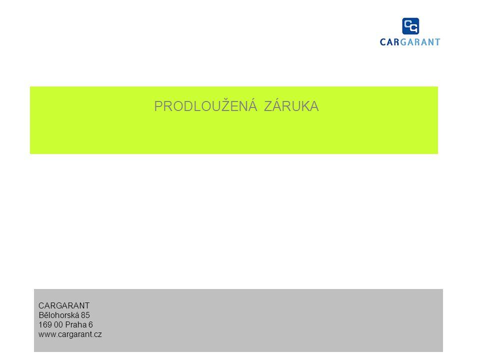 Informace o správci programu CARGARANT zahájil činnost v roce 2002 jako specialista na pojištění tzv.