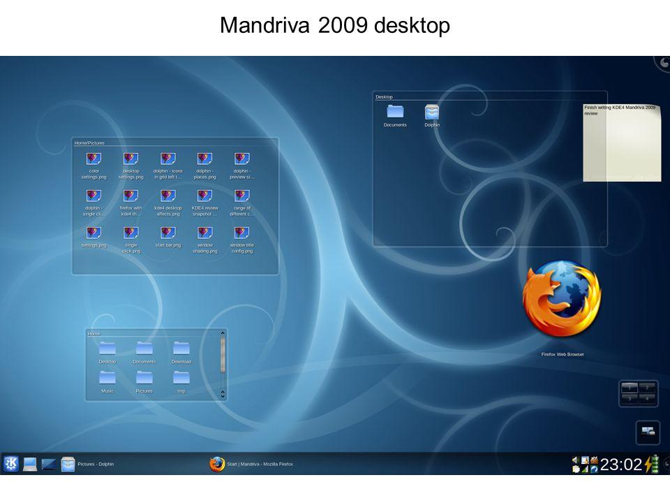 Mandriva 2009 desktop