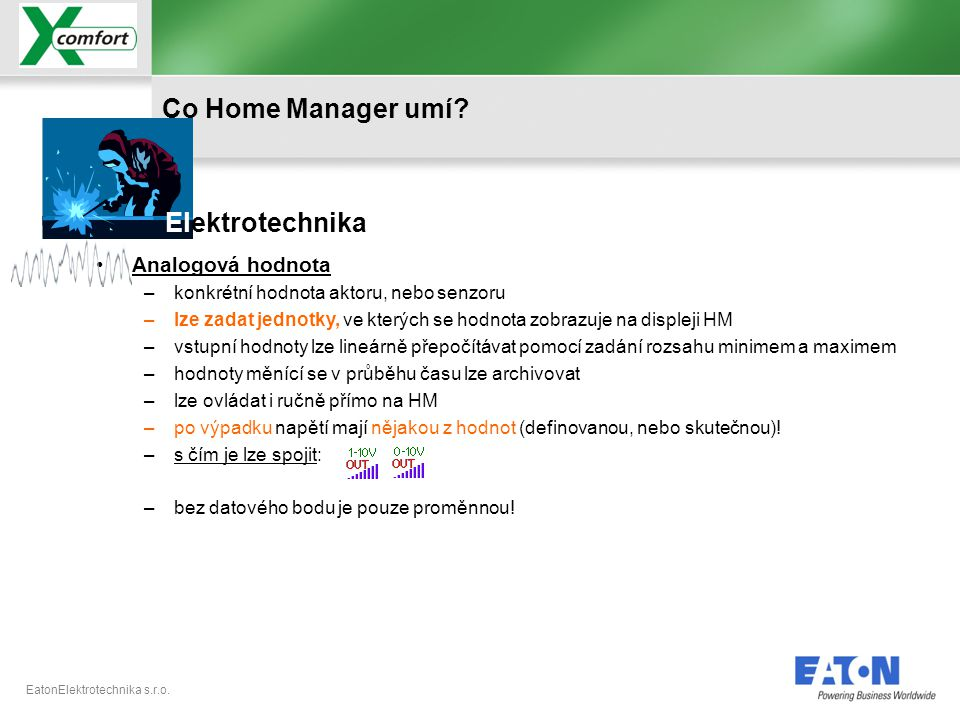 EatonElektrotechnika s.r.o. Připojení Home Manageru – chyba spojení, konfigurace portů !