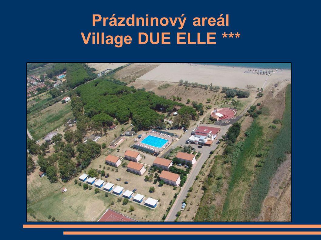 Prázdninový areál Village DUE ELLE ***