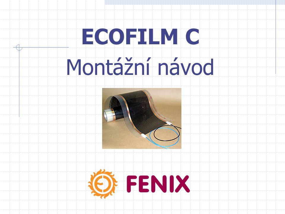 ECOFILM C Montážní návod