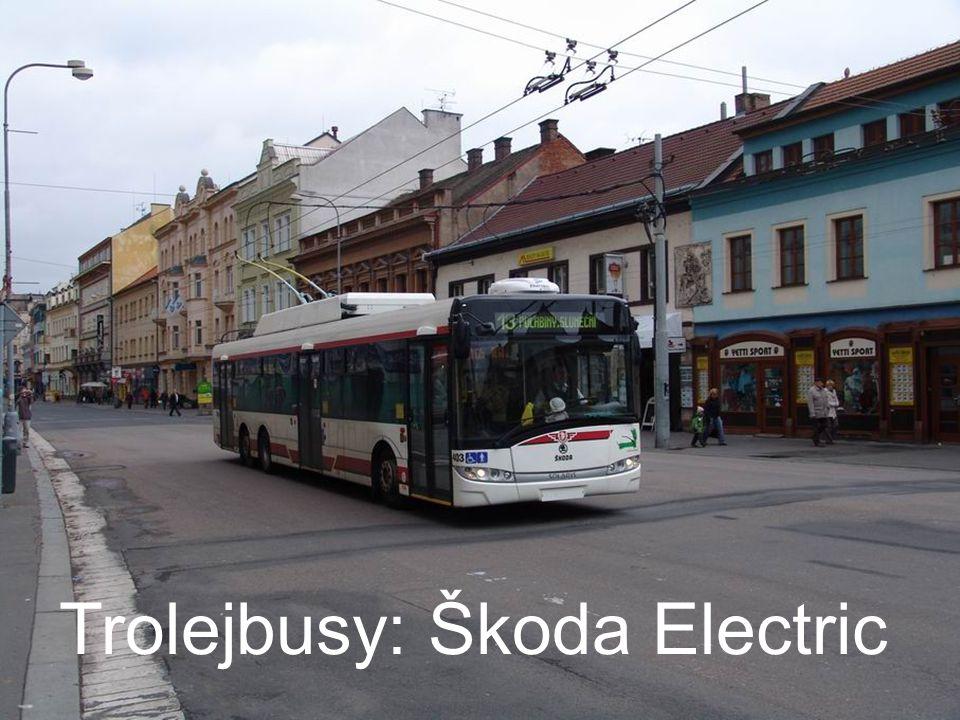 Trolejbusy: Škoda Electric