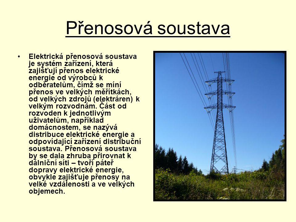 Elektrárny •Elektrickou energii získáváme v elektrárnách.