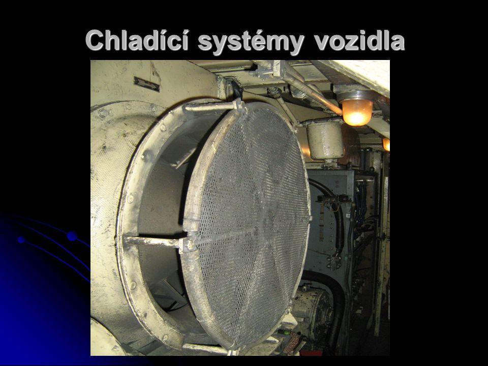 Chladící systémy vozidla