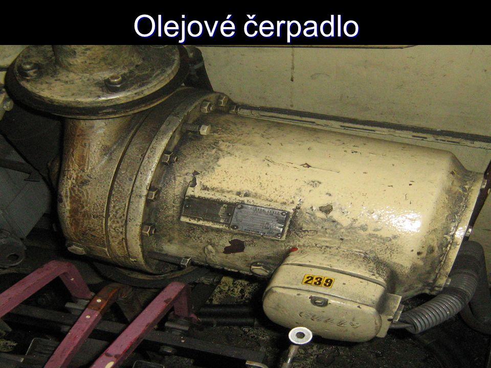 Olejové čerpadlo