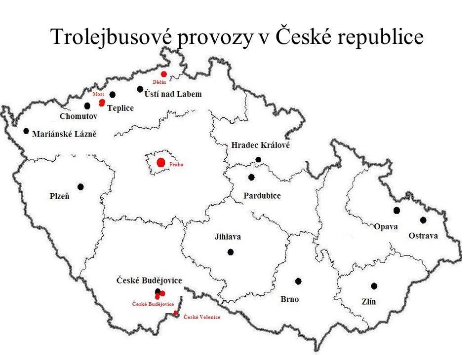Trolejbusové provozy v České republice