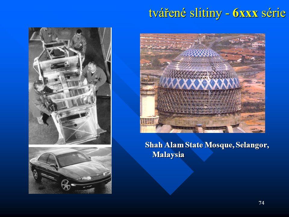 74 tvářené slitiny - 6xxx série Shah Alam State Mosque, Selangor, Malaysia