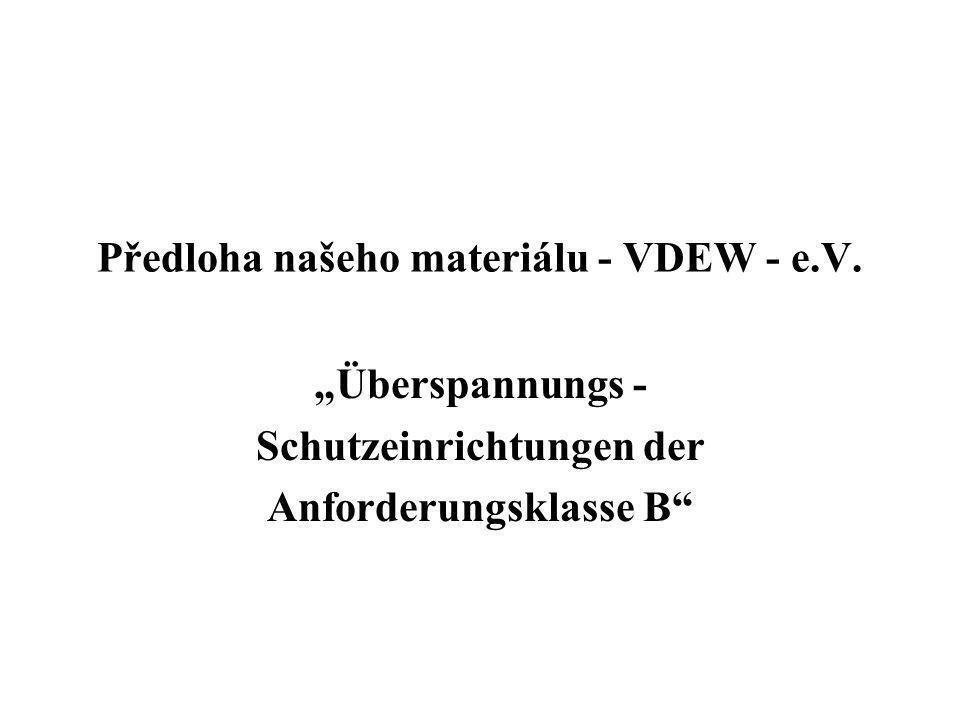 Předloha našeho materiálu - VDEW - e.V.