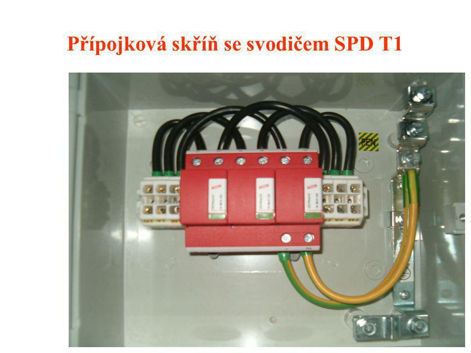 BULLETIN IP ILPC 2007 síť nn TN-C, PS / 35 A Instalace kombinovaného svodiče pro obytný dům v zapojení před elektroměrem DEHNventil M TNC obj.