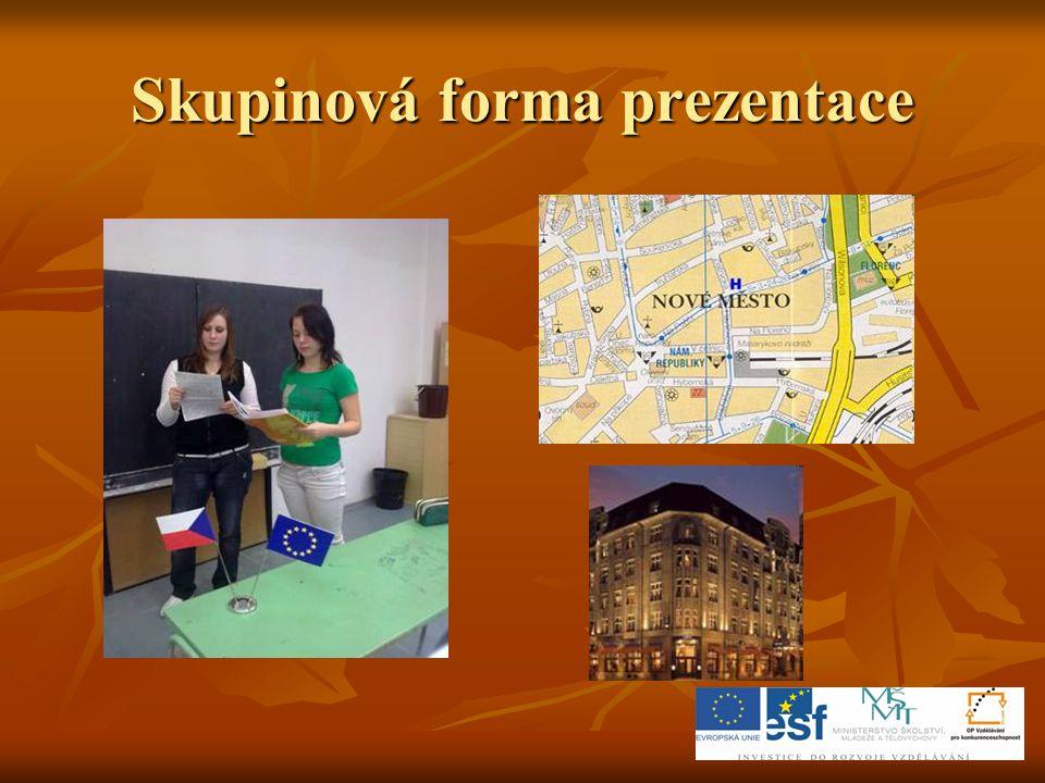 Skupinová forma prezentace