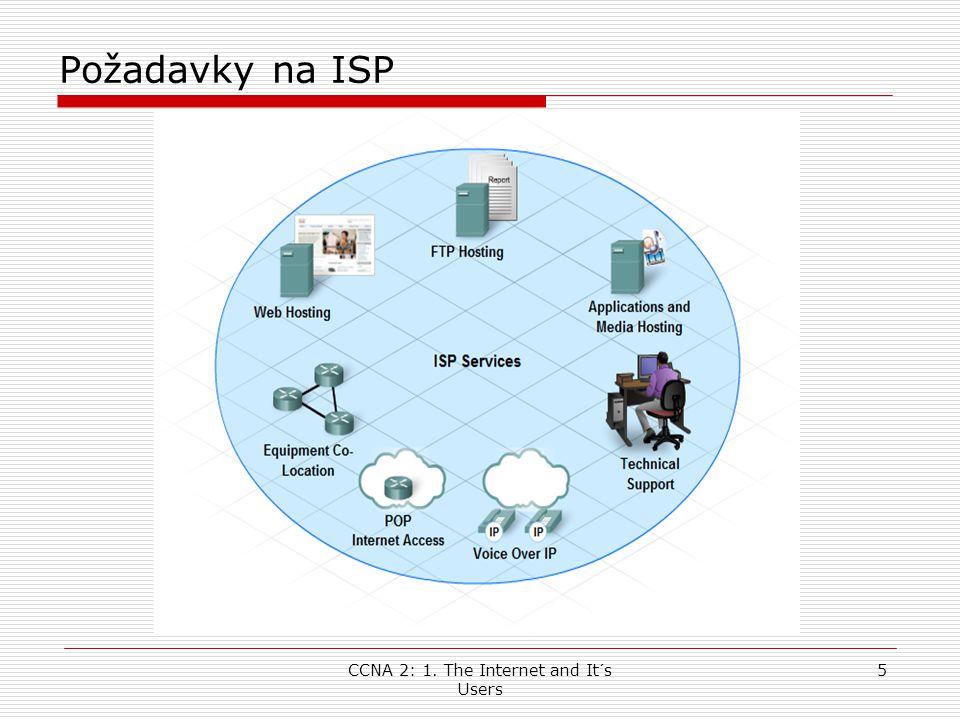 CCNA 2: 1. The Internet and It´s Users 26 ADSL řešení pro domácnosti a firmy DSL Access Multiplexor