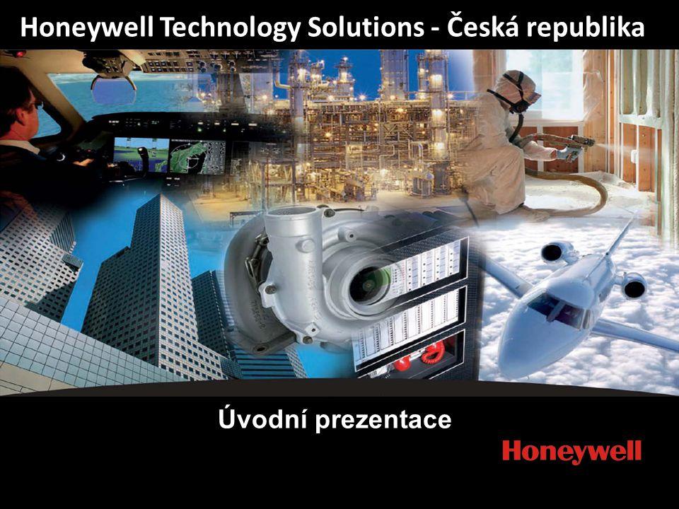 1 HTS Honeywell Technology Solutions - Česká republika Úvodní prezentace