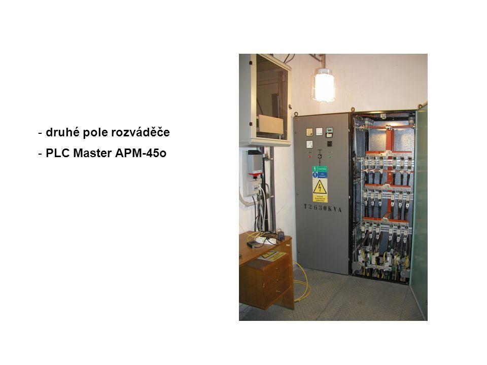 - druhé pole rozváděče - PLC Master APM-45o