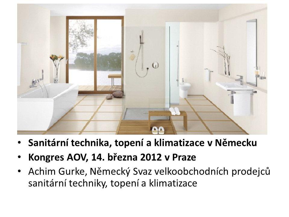 • Sanitární technika, topení a klimatizace v Německu • Kongres AOV, 14.
