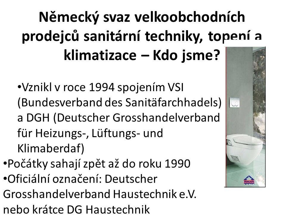 Německý svaz velkoobchodních prodejců sanitární techniky, topení a klimatizace – Kdo jsme.