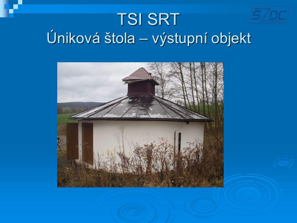 TSI SRT Úniková štola – výstupní objekt