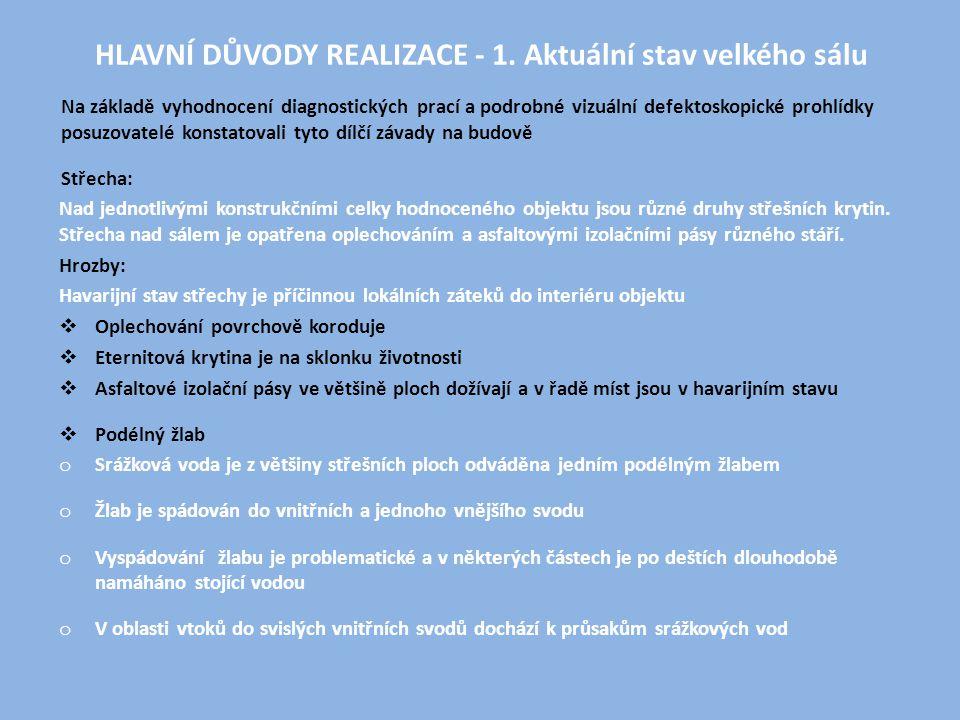 HLAVNÍ DŮVODY REALIZACE - 1.