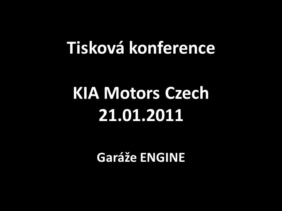 Tisková konference KIA Motors Czech 21.01.2011 Garáže ENGINE