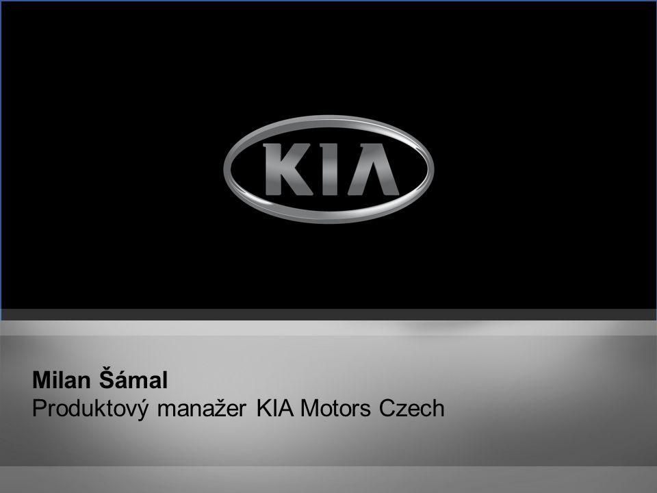 Milan Šámal Produktový manažer KIA Motors Czech