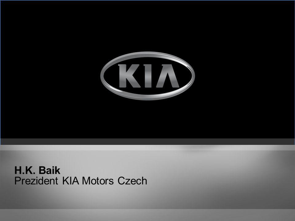 H.K. Baik Prezident KIA Motors Czech